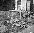 """""""Brana"""" za poč?kat (vleče jo osel), Tinjan 1949.jpg"""