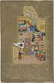 """Funeral Procession"", Folio 35r from a Mantiq al-tair (Language of the Birds) MET DT11961.jpg"