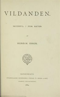 <i>The Wild Duck</i> play by Henrik Ibsen