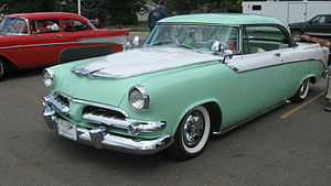 1955 Dodge - 1956 Coronet Royal Lancer with custom chrome flipper hubcaps