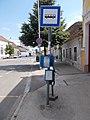 'Pápa, Szalmavári utca' bus stop, 2020 Pápa.jpg