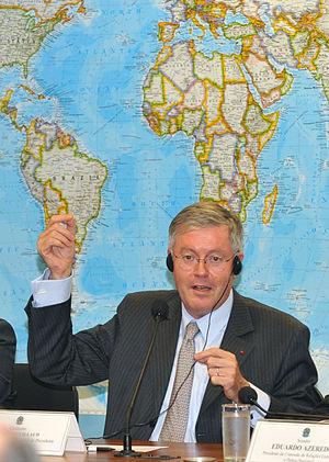 Édouard Guillaud - Guillaud in Brazil for negotiations regarding export of Dassault Rafale aircraft to Brazil, 1 October 2009