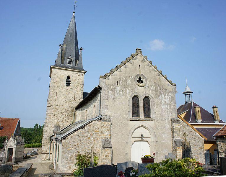 L'église de Ville en Selve.