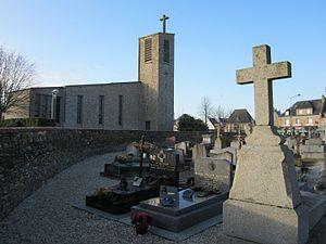 Église Saint-André reconstruite.