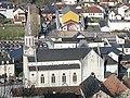 Église Saint-Jean Baptiste depuis le fort de Mauléon.jpg