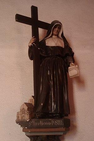 Marie-Madeleine Postel - Statue.