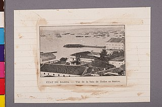 État de Bahia - Vue de La Baie de Todos Os Santos