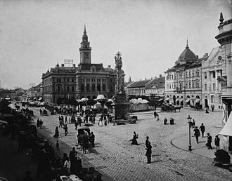 Novi Sad - Novi Sad main square, 1900