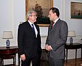 Συνάντηση ΥΠΕΞ Δ. Δρούτσα με ΥΠΕΞ Αυστραλίας K. Rudd - Meeting of FM D. Droutsas and Australian FM K. Rudd (5410067027).jpg