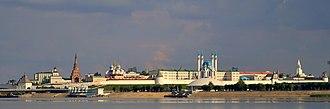 Kazan Kremlin - General view of the Kazan Kremlin