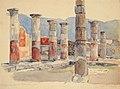В. И. Суриков. Помпея. Дорические колонны. 1884.jpg