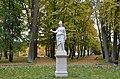 Гатчина. Верхний Голландский сад. Статуя Афины.JPG