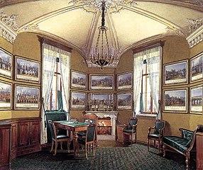 Le Petit Cabinet de guerre de Nicolas Ier