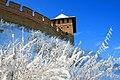 Замкові мури та Владича вежа. Зима.jpg