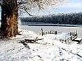 Зимняя стоянка парома. - panoramio.jpg