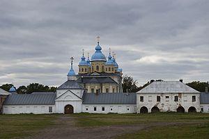 Konevsky Monastery - The katholikon was built between 1800 and 1809.