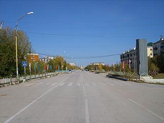 Mokhsogollokh Urban-type settlement in Sakha Republic, Russia