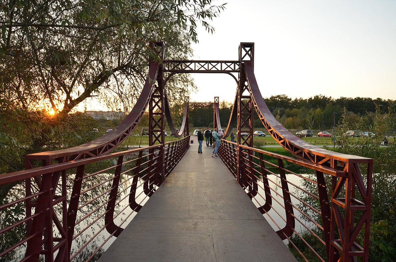 Мост над рекой Ирпень
