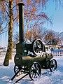 Парова машина-локомобіль Херсонського локомобільного заводу у центрі селища Диканька Полтавської області(2).jpg