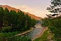 Последние лучи заката, р.Чемал, Республика Алтай 01.jpg