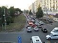 Проспект Ибрагимова (Казань) пробка.JPG