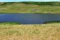 Пруд у деревни Ковыловка. Вид в восточном направлении. За прудом гора Верблюжка - panoramio.jpg