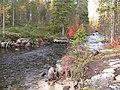Ручей со Светлого в Вумбозеро - panoramio.jpg