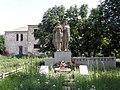 Серебрянка, братская могила партизан Гражданской и советских воинов Второй Мировой войн.jpg