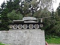 Танк Т-34 на Ленинградском шоссе монумент.jpg