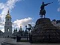 Украина, Киев - Памятник Богдану Хмельницкому 04.jpg