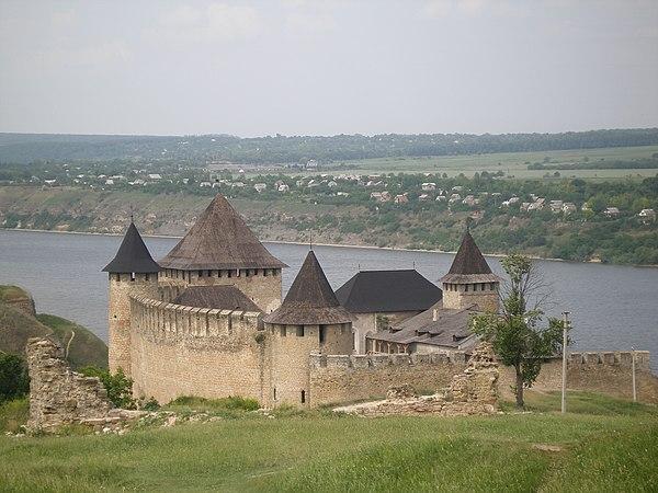 Хотинська фортеця, © Жанна Бучко, CC-BY-SA 4.0