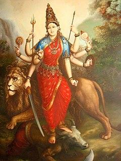 Durga Hindu warrior goddess