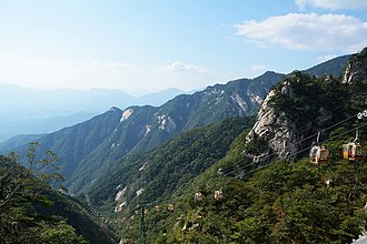 Luotian County - Tiantangzhai National Forest Park