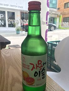 Fruit soju - Wikipedia