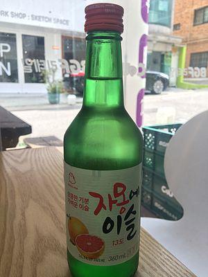Fruit soju - 자몽에 이슬
