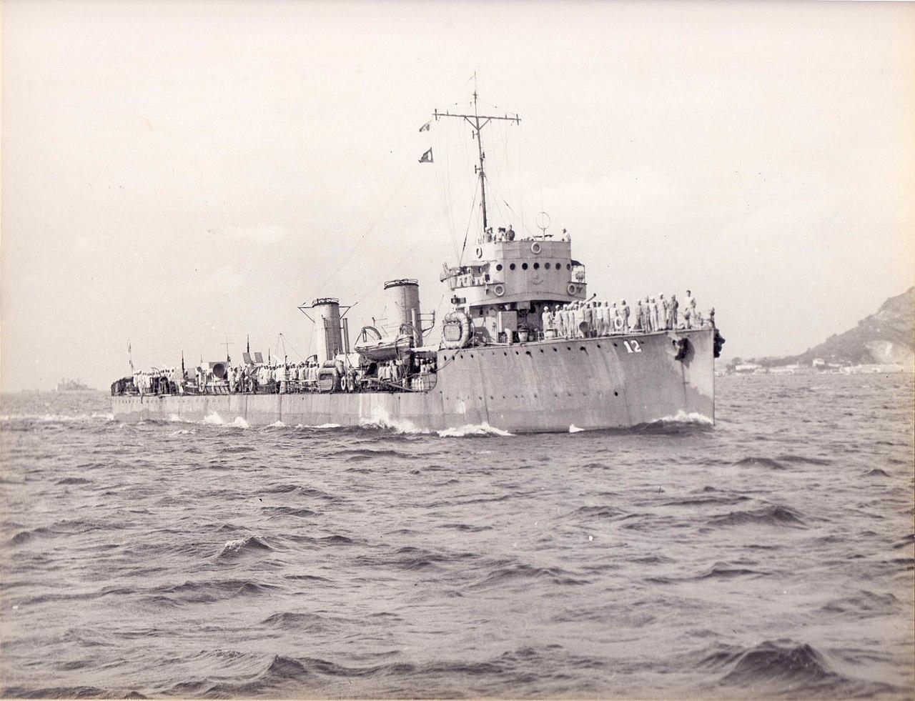 Brazilian destroyer Maranhão