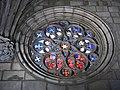 053 Generalitat de Catalunya, capella de Sant Jordi, rosassa.JPG