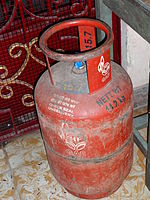 LPG cylinder in India