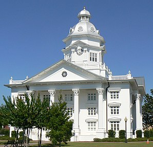 Colquitt County Courthouse, gelistet im NRHP Nr. 80001003[1]
