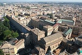 0 Chapelle Sixtine - Palais du Belvédère et Musées du Vatican.JPG