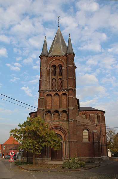 Willemeau (Belgium), the Saint Gaugericus' church (1859-1863).