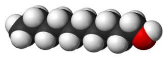 1-Decanol - Image: 1 Decanol 3D vd W
