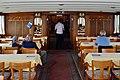 100 Jahre Dampfschiff 'Stadt Rapperswil' - Tag der offenen Dampfschiff-Türe am Bürkliplatz - Innenansicht - Salon zweite Klasse 2014-04-25 14-06-49.JPG