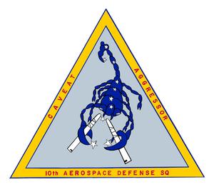 10th Aerospace Defense Group - 10th Aerospace Defense Squadron Emblem
