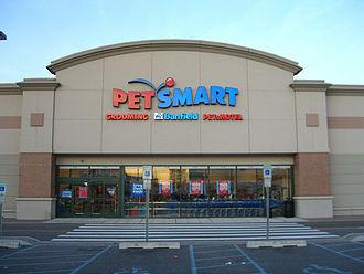 PetSmart - The PetSmart in Harmon Meadow Plaza in Secaucus, New Jersey.