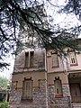 111 Casa Barbey, façana nord, torre (la Garriga).JPG