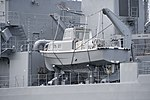 11m Lunch of JS Nichinan(AGS-5105) left rear view at JMSDF Yokosuka Naval Base April 30, 2018 01.jpg
