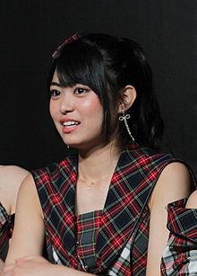 130413 AKB48 at Tokyo Auto Salon Singapore Meet & Greet 2 and Performance (前田亜美).jpg