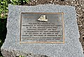 150th anniversary of the arrival of the immigrants in 1849 Cairn at Captain Burke Park, Kangaroo Point, Queensland.jpg