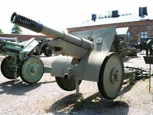 152 mm gun M1910/30 - Image: 152mm m 1930 hameenlinna 1